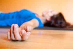gyógyító jóga, savászana
